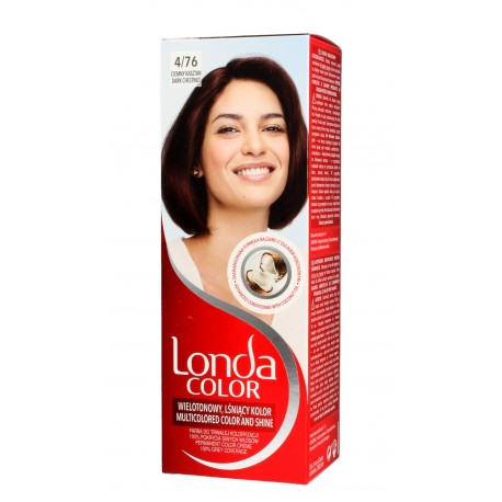 Londacolor Cream Farba do włosów nr 4/76 ciemny kasztan  1op.