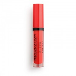 Makeup Revolution Cherry 132 Pomadka do ust w płynie Sheer Brillant  1szt