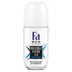 Fa Men Xtreme Dezodorant roll-on Invisible Fresh  50 ml