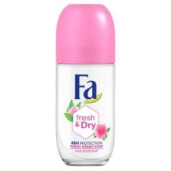 Fa Fresh & Dry 48H Dezodorant roll-on Peony Sorbet 50 ml