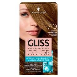 Schwarzkopf Gliss Color Krem koloryzujący nr 7-0 Beżowy Ciemny Blond 1op.