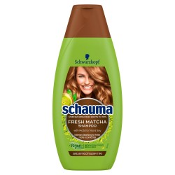 Schwarzkopf Schauma Fresh Matcha Szampon do włosów przetłuszczających się i suchych 400ml