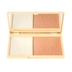 I Heart Revolution Chocolate Mini Palette Mini paletka rozświetlaczy Fondue 1szt