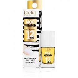 Delia Cosmetics Efekt w 12 dni Odżywka do paznokci Moc Witamin-witaminowa 11ml