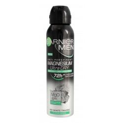 Garnier Mineral Men Dezodorant w sprayu 72H Magnesium Ultra Dry  150ml