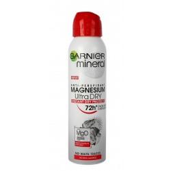 Garnier Mineral Dezodorant w sprayu 72H Magnesium Ultra Dry  150ml
