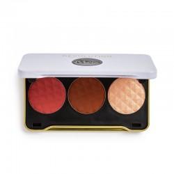 Makeup Revolution X Patricia Bright Zestaw do konturowania twarzy You Are Gold  1szt