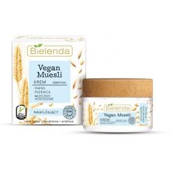 Bielenda Vegan Muesli Krem nawilżający na dzień i noc - cera sucha,odwodniona,wrażliwa 50ml