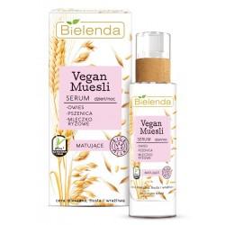 Bielenda Vegan Muesli Serum matujące na dzień i noc - cera mieszana,tłusta,wrażliwa 30ml