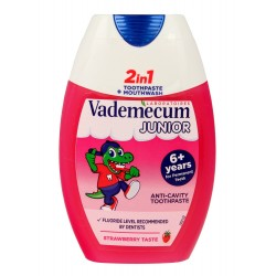 Vademecum Junior 6+ Pasta do zębów 2w1 Strawberry  75ml