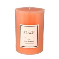 ARTMAN Glass Świeca zapachowa Peach - walec średni 1szt
