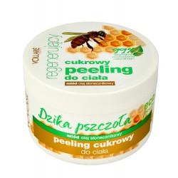 Vollare Dzika Pszczoła Peeling cukrowy do ciała regenerujący  225ml