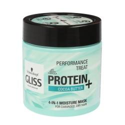 Gliss Hair Repair Protein+ Maska do włosów 4in1 nawilżająca Cocoa Butter 400ml