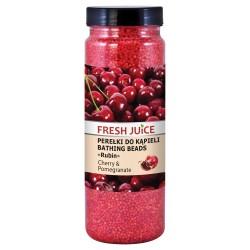 Fresh Juice Perełki do kąpieli Cherry & Pomegranate 450ml