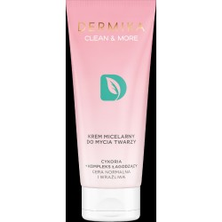Dermika Clean & More Krem micelarny do mycia twarzy - cera normalna i wrażliwa 150ml