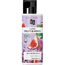 AA Super Fruits & Herbs Balsam do ciała nawiżająco-relaksujący Figa i Lawenda  500ml