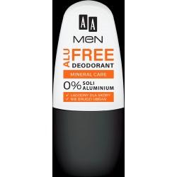AA Men Alu Free Dezodorant roll-on Mineral Care 50ml