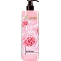Bielenda Super Skin Diet Velvet Rose Olejek do kąpieli i pod prysznic regenerujący  400ml