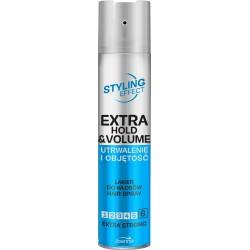 Joanna Styling Effect Lakier do włosów Utrwalenie i Objętość  extra strong 250ml