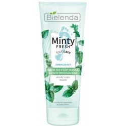 Bielenda Minty Fresh Foot Care Krem -maska do stóp zmiękczający 100ml