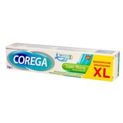 GSK Corega Krem do mocowania protez zębowych -  Super Mocny mocno miętowy  70g