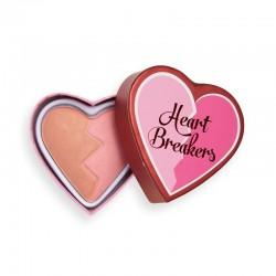 I Heart Revolution Heartbreakers Matte Blush Róż matowy do twarzy Creative 10g