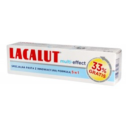 Lacalut Pasta do zębów Multi-Effect 5w1 75ml + 33%