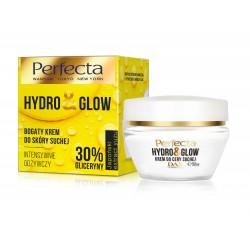 Perfecta Hydro & Glow Bogaty Krem intensywnie odżywczy 30% gliceryny - do cery suchej  50ml