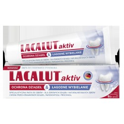 Lacalut Pasta do zębów Activ - ochrona dziąseł & aktywne wybielanie 75ml