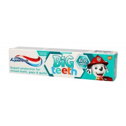 Aquafresh Pasta do zębów dla dzieci Big Teeth 6-8 lat Psi Patrol  50ml