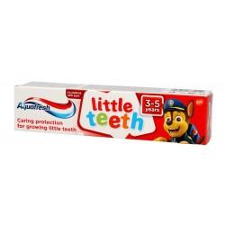 Aquafresh Pasta do zębów dla dzieci Little Teeth 3-5 lat Psi Patrol  50ml