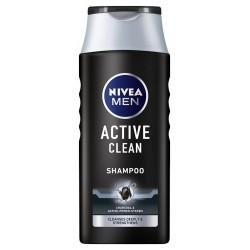 NIVEA Men Szampon do włosów ACTIVE CLEAN oczyszczający  250ml