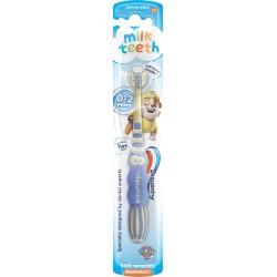 Aquafresh Szczoteczka do zębów dla dzieci Milk Teeth 0-2 lat Psi Patrol  1szt