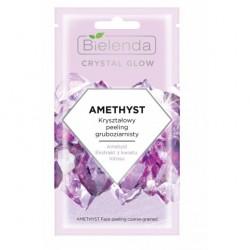 Bielenda Crystal Glow Kryształowy Peeling gruboziarnisty Amethyst  8g