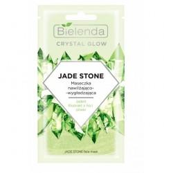 Bielenda Crystal Glow Maseczka nawilżająco-wygładzająca Jade Stone  8g