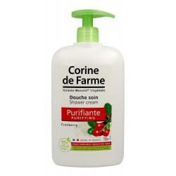 Corine de Farme HBV Krem pod prysznic oczyszczający Żurawina  750ml