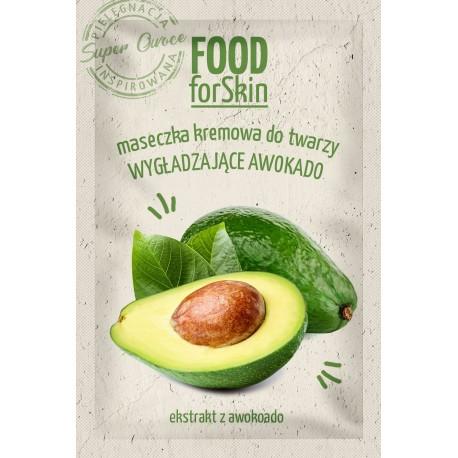 Marion Food for Skin Maseczka kremowa do twarzy - wygładzające Awokado  6ml