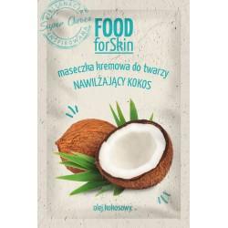 Marion Food for Skin Maseczka kremowa do twarzy - nawilżający Kokos  6ml