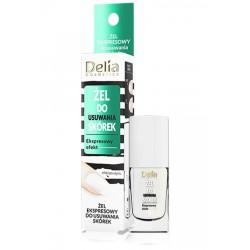 Delia Cosmetics Żel ekspresowy do usuwania skórek  11ml