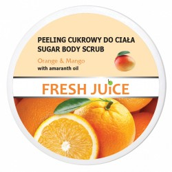 Fresh Juice Peeling cukrowy do ciała Orange & Mango  225ml