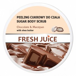 Fresh Juice Peeling cukrowy do ciała Chocolate & Marzipan  225ml