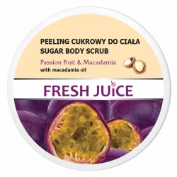 Fresh Juice Peeling cukrowy do ciała Passion Fruit & Macadamia  225ml