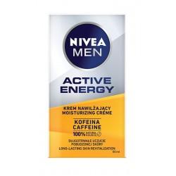 NIVEA MEN Active Energy Krem nawilżający z kofeiną dla mężczyzn  50ml