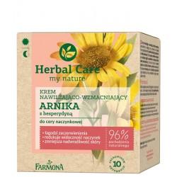 Farmona Herbal Care Krem nawilżająco-wzmacniający Arnika na dzień i noc - cera naczynkowa 50 ml