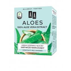 AA Aloes 100% Krem dzienno-nocny odżywczo nawilżający 50ml