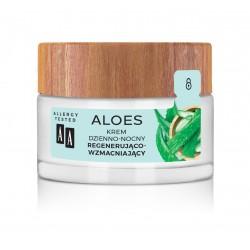 AA Aloes 100% Krem dzienno-nocny regenerująco wzmacniający 50ml