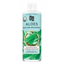 AA Aloes 100% Płyn micelarny łagodząco nawilżający 400ml