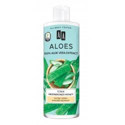AA Aloes 100% Tonik regenerująco-kojący 400ml