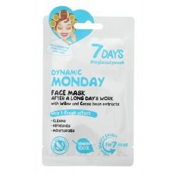 VILENTA 7 Days Maska na twarz oczyszczająca Dynamic Monday  28g
