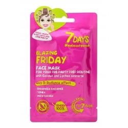 VILENTA 7 Days Maska na twarz rozświetlająca Blazing Friday  28g